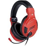 BigBen PS4 Stereo Headset v3 - rot - Gaming Kopfhörer