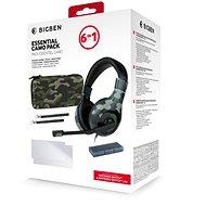 BigBen Essential Pack 6in1 - Nintendo Switch Camo Edition - Controller-Zubehör