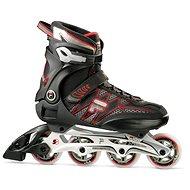 Inline Skates, Fila Helix black/red - Rollschuhe