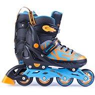 Inline Skates Spokey Turis schwarz/orange - Rollschuhe