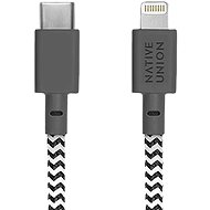 Native Union Belt Cable C-L Lightning - 1,2 m - zebra - Datenkabel