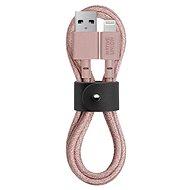 Native Union Belt Cable Lightning 1.2m, rosa - Datenkabel