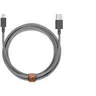 Native Union Belt Cable XL Lightning 3m, zebra - Datenkabel