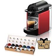 NESPRESSO De'Longhi EN 124 R, rot - Kapsel-Kaffeemaschine