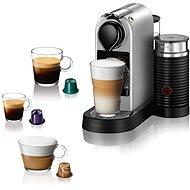 NESPRESSO Krups Citiz & Milk XN761B10, Silber - Kapsel-Kaffeemaschine
