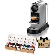 NESPRESSO Krups Citiz XN741B10, Silber - Kapsel-Kaffeemaschine