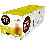 Nescafé Dolce Gusto Cappuccino 16 Stück x 3 - Kaffeekapseln