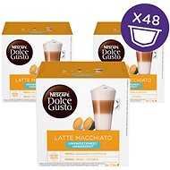 Nescafé Dolce Gusto Latte Macchiatto ohne Zucker 16 Stück x 3 - Kaffeekapseln