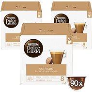 Nescafe Dolce Gusto Cortado Espresso macchiato 30 Stück x 3 - Kaffeekapseln