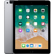 iPad WiFi + Cellular 128 GB - Space Grau 2018 - Tablet