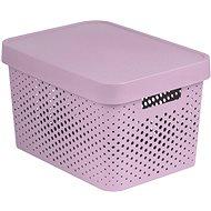 Curver INFINITY DOTS Box 17 Liter - rosa - Aufbewahrungsbox