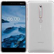 Nokia 6.1 Silver White Dual SIM - Handy