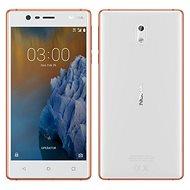 3 Kupfer Weiß Nokia Dual-SIM - Handy