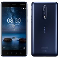 Nokia 8 Dual SIM Tempered Blue - Handy