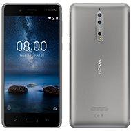 Nokia 8 Dual SIM Steel - Handy