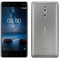 Nokia 8 Single SIM Steel - Handy