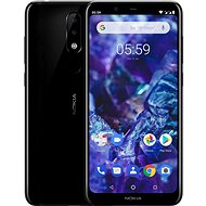 Nokia 5.1 Plus Black - Handy