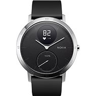 Nokia Black Steel HR (40 mm) - Smartwatch