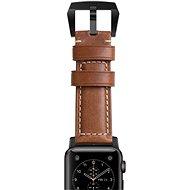 Nomad Horween Traditional Black Uhrenband aus Leder - Armband