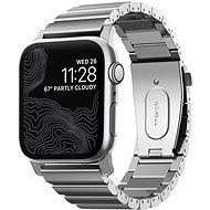 Nomad Titanium Band Silver Apple Watch 44/42 mm - Uhrband