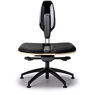 NESEDA Premium Bürostuhl mit Laminat Rückenlehne - schwarz - Bürostuhl