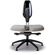 NESEDA Premium Bürostuhl mit Laminat Rückenlehne - grau - Bürostuhl