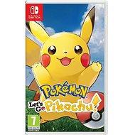 Pokémon Lets Go Pikachu! - Nintendo Switch - Konsolenspiel
