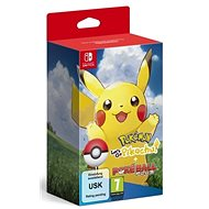 Pokémon Lets Go Pikachu! + Poké Ball Plus - Nintendo Switch - Konsolenspiel