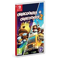 Overcooked! + Overcooked! 2 - Double Pack - Nintendo Switch - Konsolenspiel