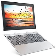 Lenovo Miix 320-10ICR Platinum Metall 128GB LTE + Dock mit Tastatur - Tablet PC