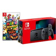 Nintendo Switch - Grey Joy-Con + Super Mario 3D World - Spielkonsole