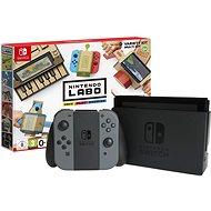 Nintendo Switch - Schwarz + Nintendo Labo Variety Kit - Spielkonsole