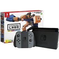 Nintendo Switch - Schwarz + Nintendo Labo Roboterkit - Spielkonsole