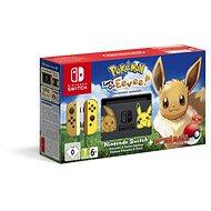 Nintendo Switch + Pokémon: Lets Go Evoli + Pokéball - Spielkonsole