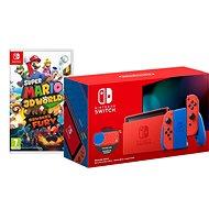 Nintendo Switch Mario Red & Blue Edition + Super Mario 3D World - Spielkonsole