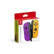 Nintendo Switch Joy-Con Controller Neon Purple / Neon Orange - Gamepad