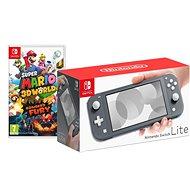 Nintendo Switch Lite - Grey + Super Mario 3D World - Spielkonsole