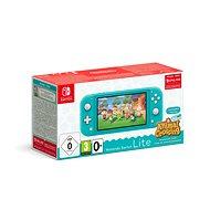 Nintendo Switch Lite - Turquoise + Animal Crossing + 3M NSO - Spielkonsole