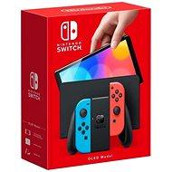 Nintendo Switch (OLED Model) Neon Blue/Neon Red - Spielkonsole