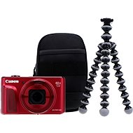 Canon PowerShot SX720 HS rot Travel Set - Digitalkamera