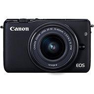 Canon EOS M100 schwarz + M15-45mm silber - Digitalkamera