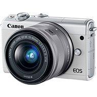 Canon EOS M100 weiß + M15-45mm silber - Digitalkamera