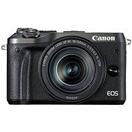 Canon EOS M6 schwarz + EF-M 18-150 mm - Digitalkamera