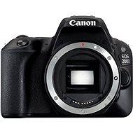 Canon EOS 200D schwarz - Digitale Spiegelreflexkamera