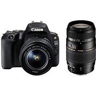 Canon EOS 200D schwarz + 18-55mm IS STM + TAMRON 70-300mm - Digitale Spiegelreflexkamera