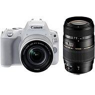 Canon EOS 200D weiß + 18-55mm IS STM + TAMRON 70-300mm - Digitale Spiegelreflexkamera