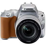 Canon EOS 200D silber + 18-55 mm IS STM - Digitale Spiegelreflexkamera