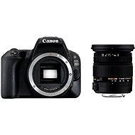 Canon EOS 200D schwarz + Sigma 17-50 mm - Digitale Spiegelreflexkamera