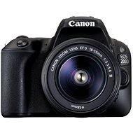 Canon EOS 200D schwarz + 18-55mm DC III - Digitale Spiegelreflexkamera