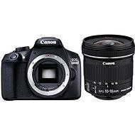 Canon EOS 1300D + 10-18mm F4.5-5.6 IS STM + EW-73C - Digitale Spiegelreflexkamera